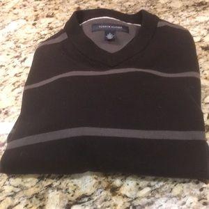 Tommy Hilfiger Black Striped Sweater